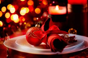 Christmas at Le Fontane Restaurant
