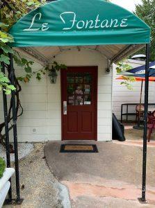 Le Fontane Entrance